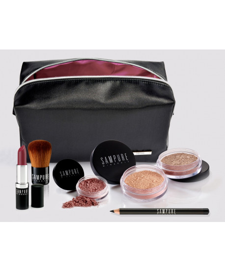 Promo Kit Black Cosmetic Bag 4 shades available