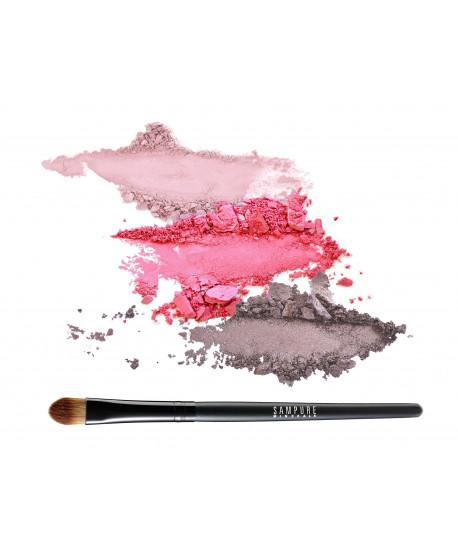 ROSE - 3 eye shadow set + professional eye shadow brush