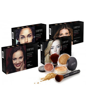 5-piece STARTER SET 4 SHADES